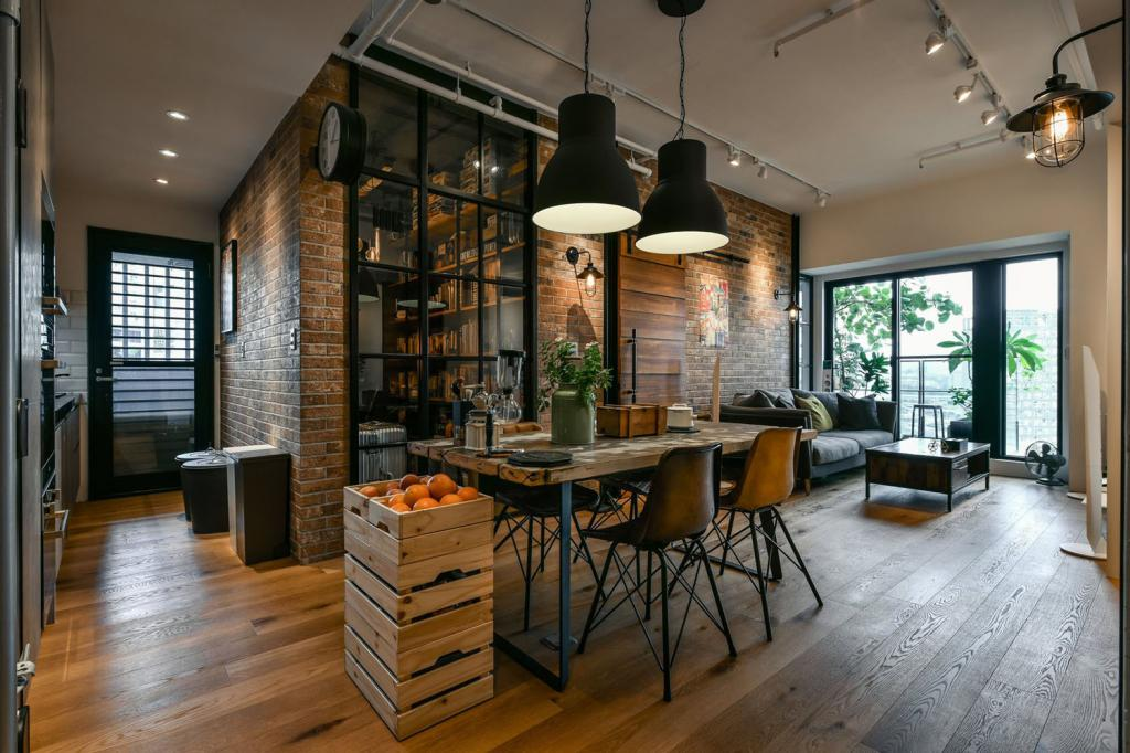 Industrial style interior design: everything you need to know